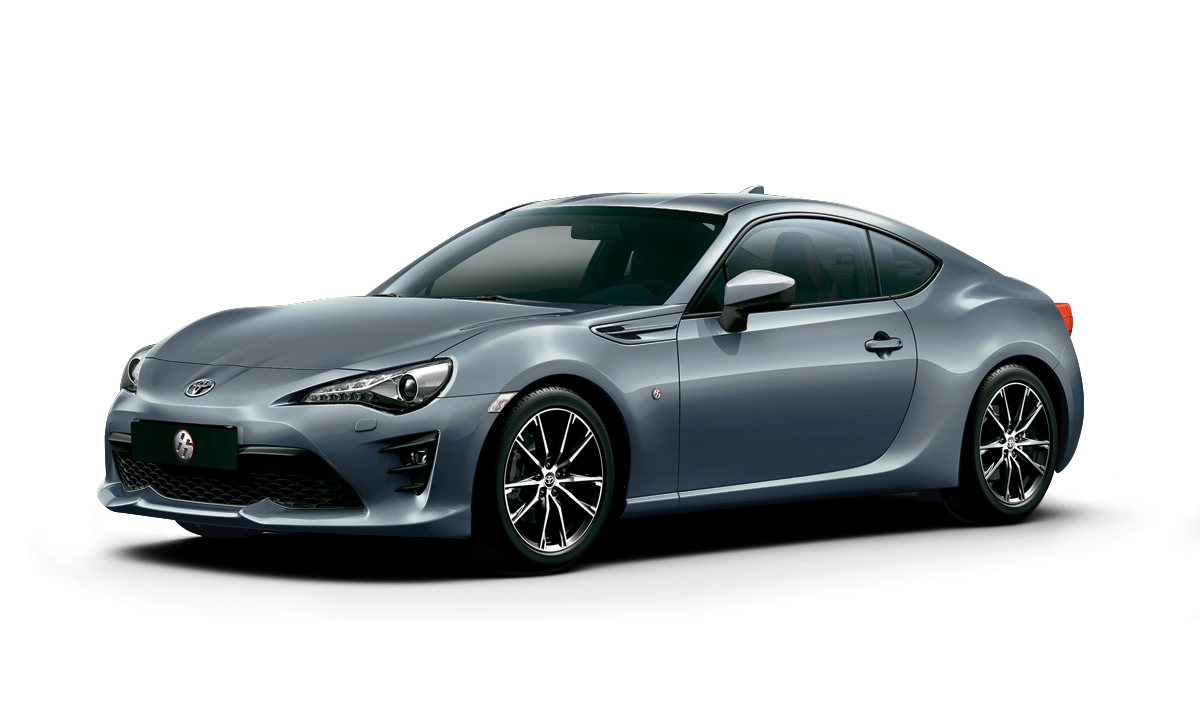 Toyota 86 GT 2019 color Gris Oscuro