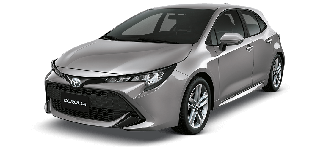 Toyota Corolla Hatchback 2019 color Gris Oscuro