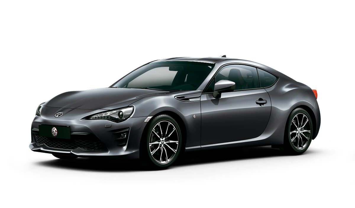 Toyota 86 GT color Gris Oscuro Metálico