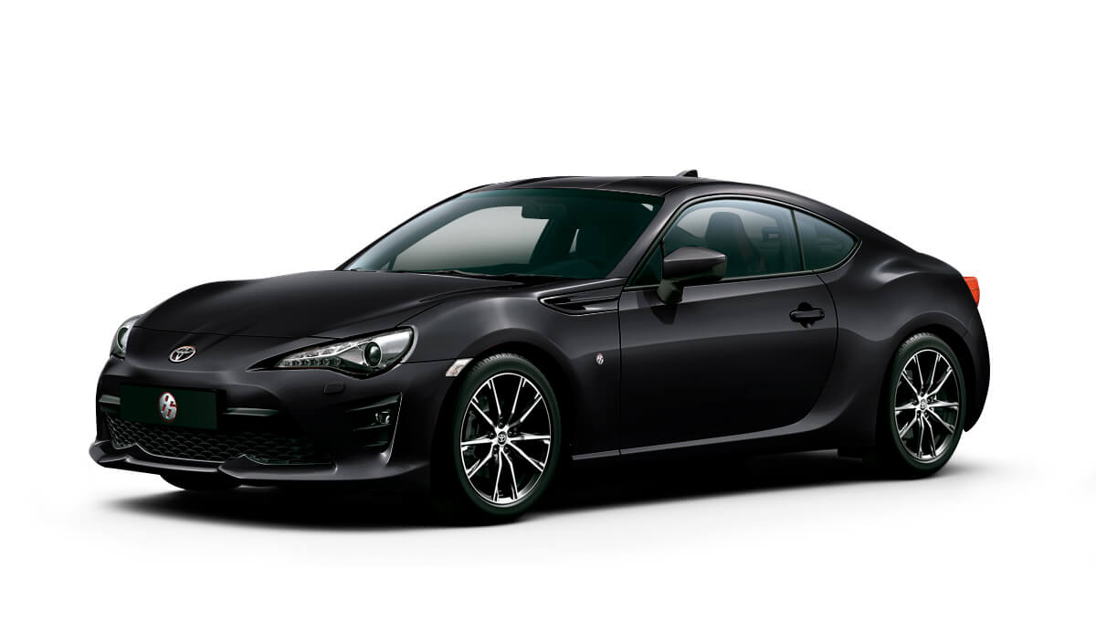 Toyota 86 GT color Negro Metálico
